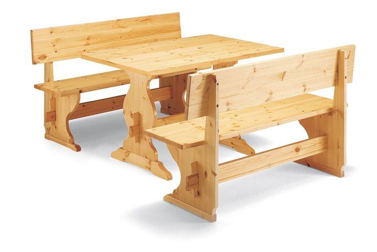 Arredamento per pizzerie in PINO MASSELLO. Tavolo fratino con panche pizzeria.  Catalogo DEMAR MOBILI PINO.  #furniture #table #pinewood #bench #solidwood www.demarmobili.it