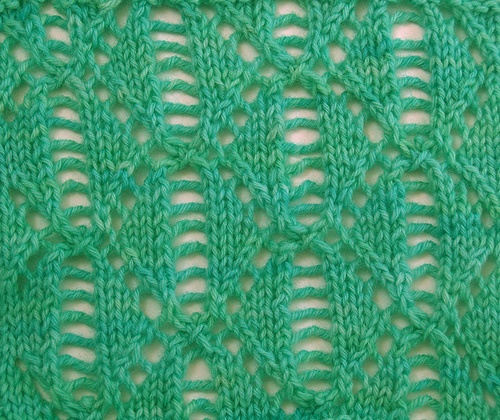 Diamond Lace Knitting Stitches : 1466 best yarn inspiration: knit stitch patterns images on Pinterest Stitch...