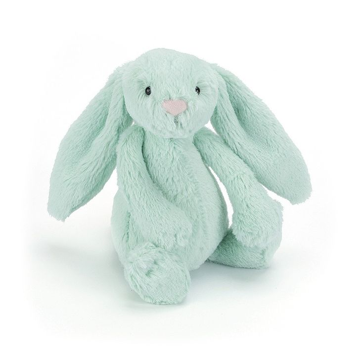 DAY 6 FIND: The ever-cuddly, ever-soft JellyCat Soft Toy Bashful Mint Bunny Medium! Such a gorgeous soft toy to wake up to on Easter morning. #entropytoys #easter #easteregghunt #easter2016