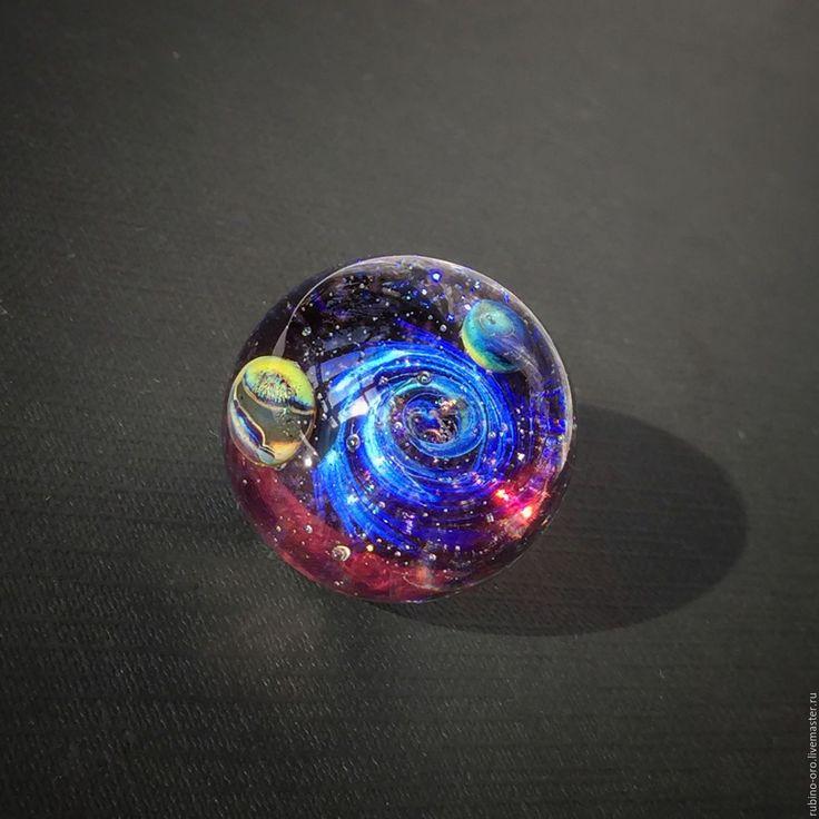 Купить Глубокий Космос... Кулон. - лемпворк, космос, галактика, стекло, авторский кулон, авторские украшения
