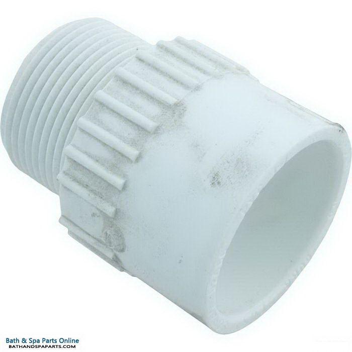 "Lasco SCH40 MIP PVC Adapter [1-1/4"" Slip x MPT] (436-012)"