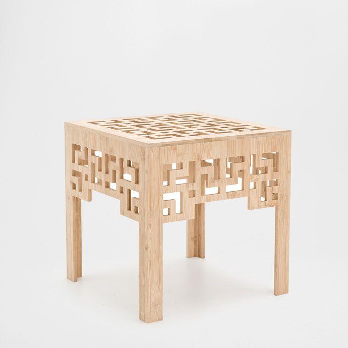 GEOMETRIC DESIGN SQUARE TABLE - Occasional Furniture | Zara Home United States…