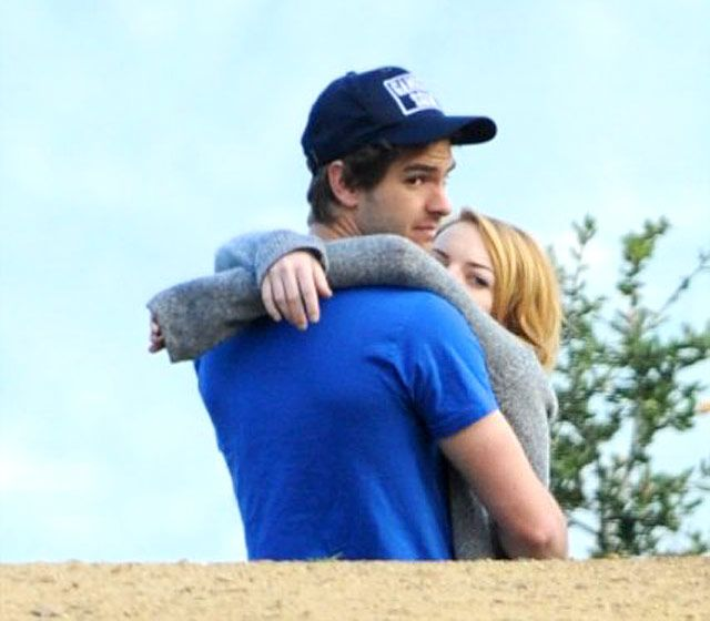 Horsing Around Photo - Emma Stone and Andrew Garfield's Sweetest Moments - Us Weekly