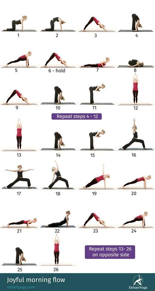 Energizing Sequence - Ekhart Yoga