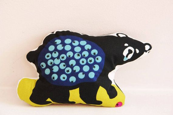 Decorative pillow Bear decorative pillow by ScandinavianFabric