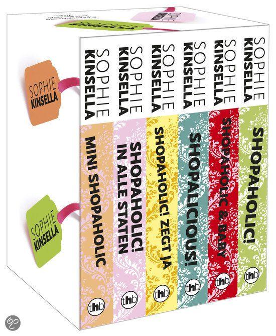 98 best gelezen boeken in mijn boekenkast images on pinterest bol shopaholic box met 6 delen sophie kinsella nederlandse boeken fandeluxe Image collections