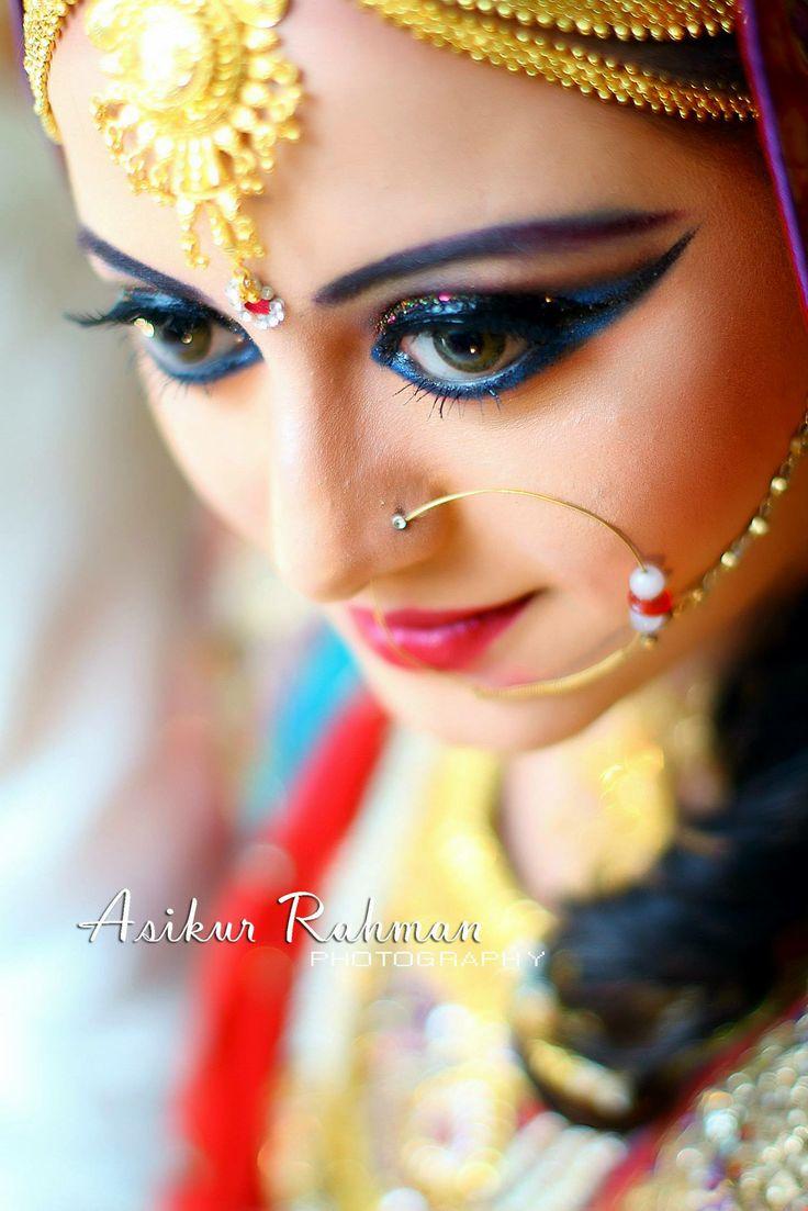 Photographs Of Bangladeshi Brides In Red Bridal Photography Saree ...
