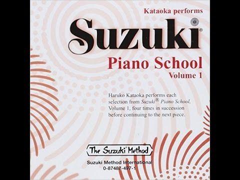 Suzuki Piano School Book 1 Playlist