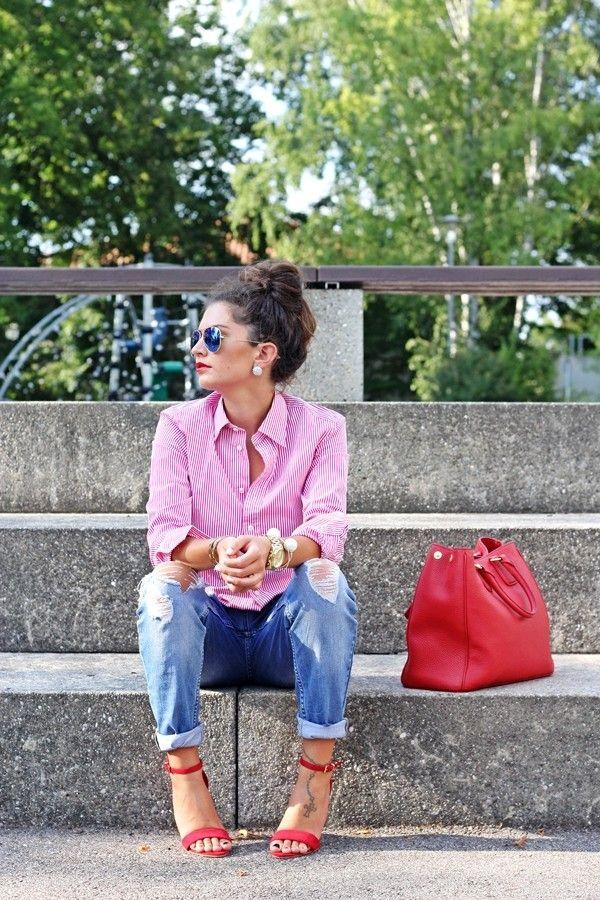 Mein heutiges Outfit ist unkompliziert, lässig und absolut alltagstauglich. Key-Piece ist die rot gestreifte Bluse von Ralph Lauren, die ich im Boyfriend-Look zur used Jeans kombiniere. Ich liebe die zeitlosen und coolen Looks von Ralph Lauren und deshalb freue ich mich umso mehr, dass sich das Label für die junge Denim & Supply Linie nun …
