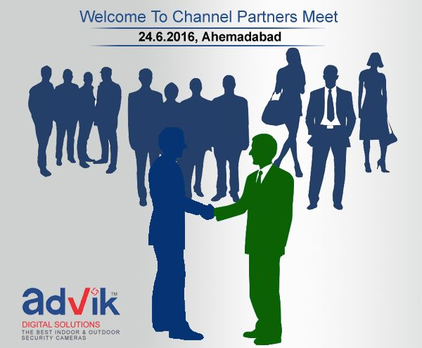 Welcome to channel partners meet of #Advik !!! Advik Compware Pvt Ltd the best #securitycamera #technology for excellent #safety is going to organize the partners association meet to recognize their contribution in proving Advik a platform to reach out thousands of aspirants users like #Indian Army, Airport, #Maharashtra Police, Indian Navy, Akashwani, IIM #Ahemdabad , #Doordarshan and many more. http://advik.net