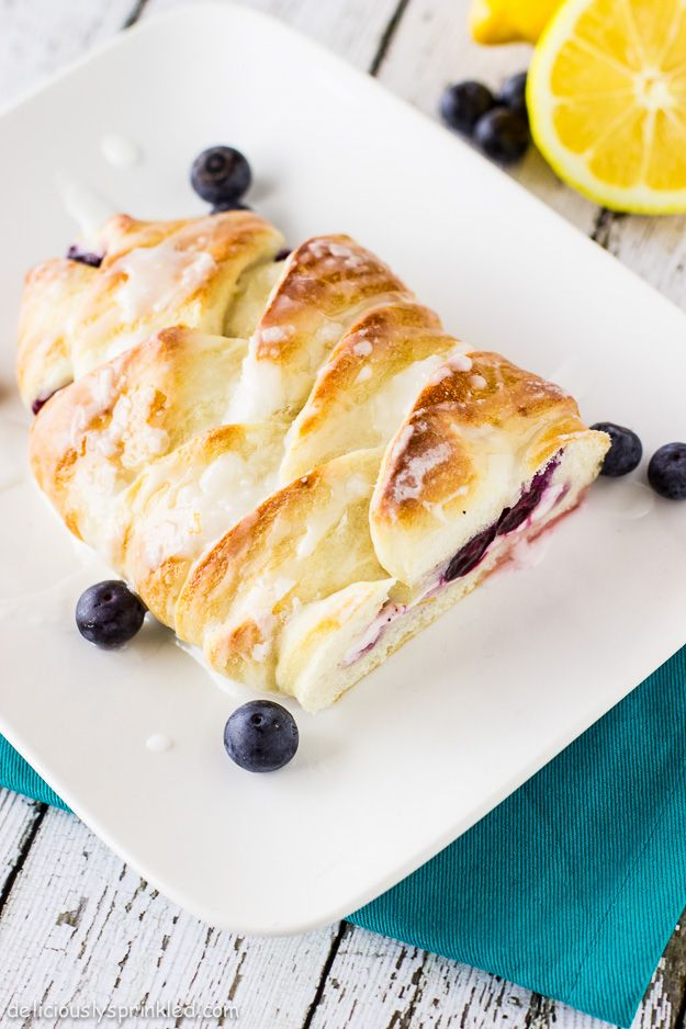Blueberry Lemon Cream Cheese Bread Recipe by Deliciously Sprinkled