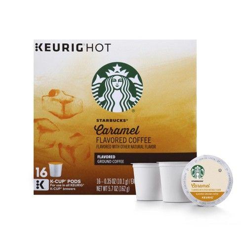 graphic regarding Starbucks K Cups Printable Coupons titled Starbucks Caramel Flavored Medium Roast Espresso - Keurig K