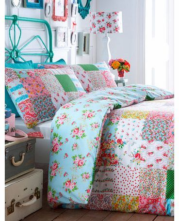 Bhs Bright Kitsch Printed Bedding Set, multi Bold and striking, the Bright Kitsch design is guaranteed to add a spring to your step each morning. A matching bedspread and cushion is available within the collection to complete this vibrant look.F http://www.comparestoreprices.co.uk//bhs-bright-kitsch-printed-bedding-set-multi.asp