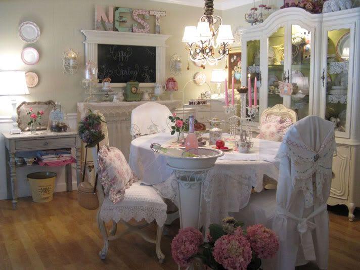90 best vintage dining rooms images on Pinterest | Cottage style ...