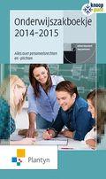 Onderwijszakboekje (editie 2014-2015) - Johan Heyvaert, Guy Janssens - plaatsnr. 450.2/001 14/15 #Jaarboeken #Adresboeken