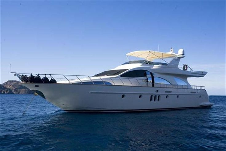 Pre-Owned 80' #Azimut Yacht For #Sale- #Tranquilita