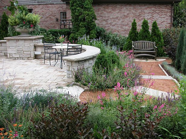peaceful...Landscapes Ideas, Design Ideas, Stones Wall, Gardens Paths, Garden Paths, Backyards Patios, Stone Walls, Outdoor Room, Yards Ideas