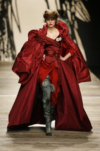 Vivienne Westwood. I would feel so awesome if this were in my closet right now!