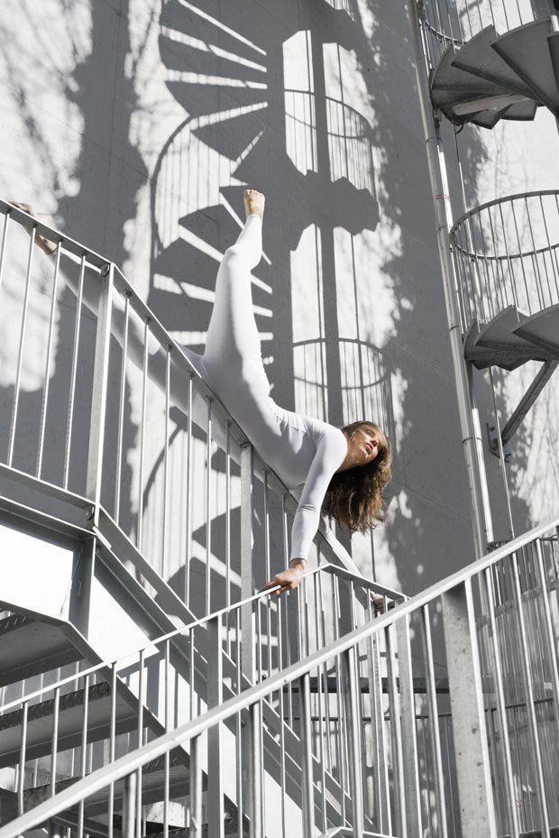 Anja Humljan, aparat fotograficzny i miejska joga   Fotoblogia.pl