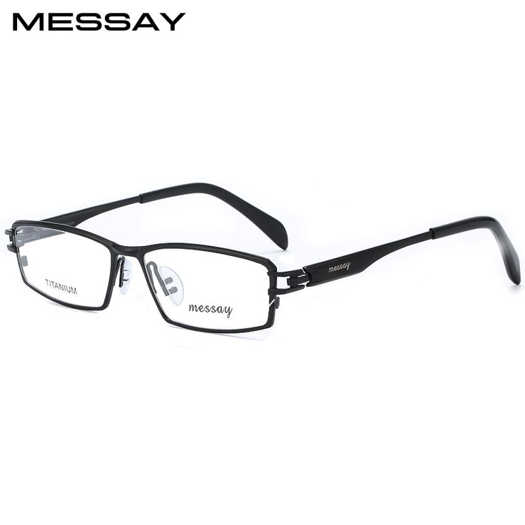 Messay Brand P8802 Glasses Titanium Eyewear Frames Men Optical Glass Frame Mens Eyeglasses Frames For Men Suit Prescription Lens. Yesterday's price: US $67.00 (55.40 EUR). Today's price: US $30.15 (24.81 EUR). Discount: 55%.