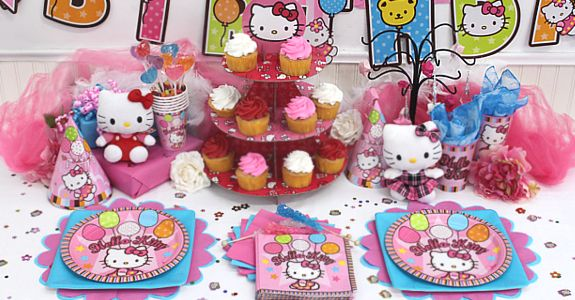Hello Kitty Birthday...5Th Bday, Birthday Ideal, Birthday Parties, Hello Kitty Birthday, 5Th Birthday, Parties Ideas, Beth Birthday, Birthday Decor, Hello Kitty Parties