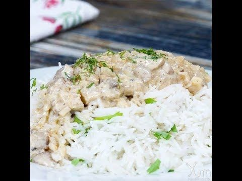Creamy Mushroom Chicken | Creamy Mushroom Chicken recipe | Creamy Chicke...