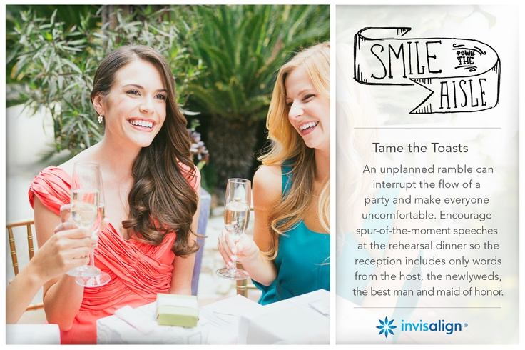 nvisalign Wedding | Smile Down The Aisle. Wedding tips for your special day. Call Boston's Top Cosmetic Dentist, Dr. Anna Berik for an Invisalign consultation