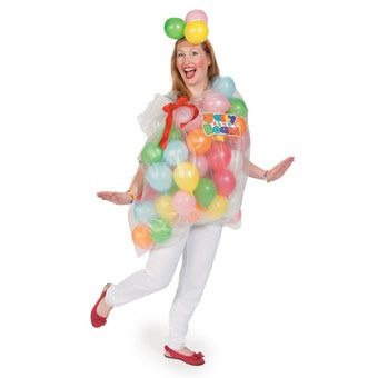 DIY Jelly Bean Halloween Costume