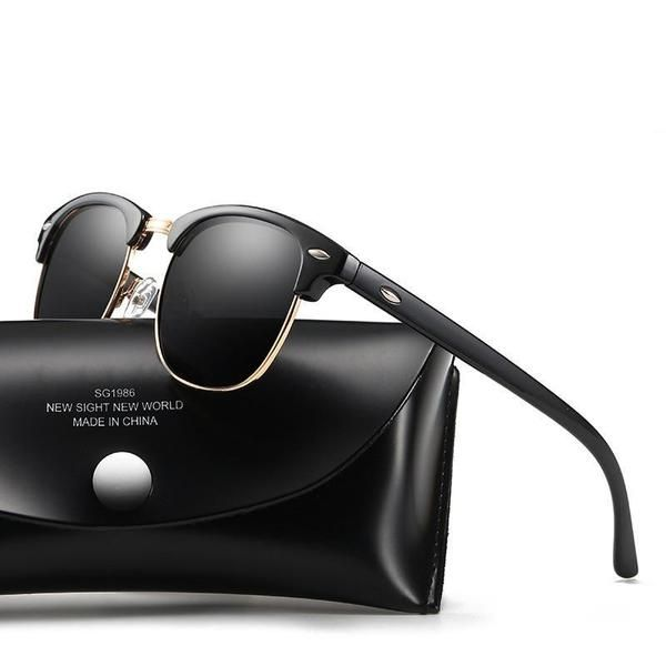 5c7dd22a694 YOOSKE Classic Polarized Sunglasses Men Women Retro Brand Designer High  Quality Sun Glasses Female Male Fashion Mirror Sunglass