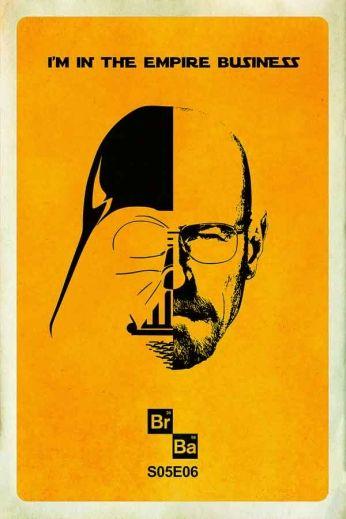 Séries de TV » Séries Policiais » Breaking Bad - Dual Poster :: Old Posters