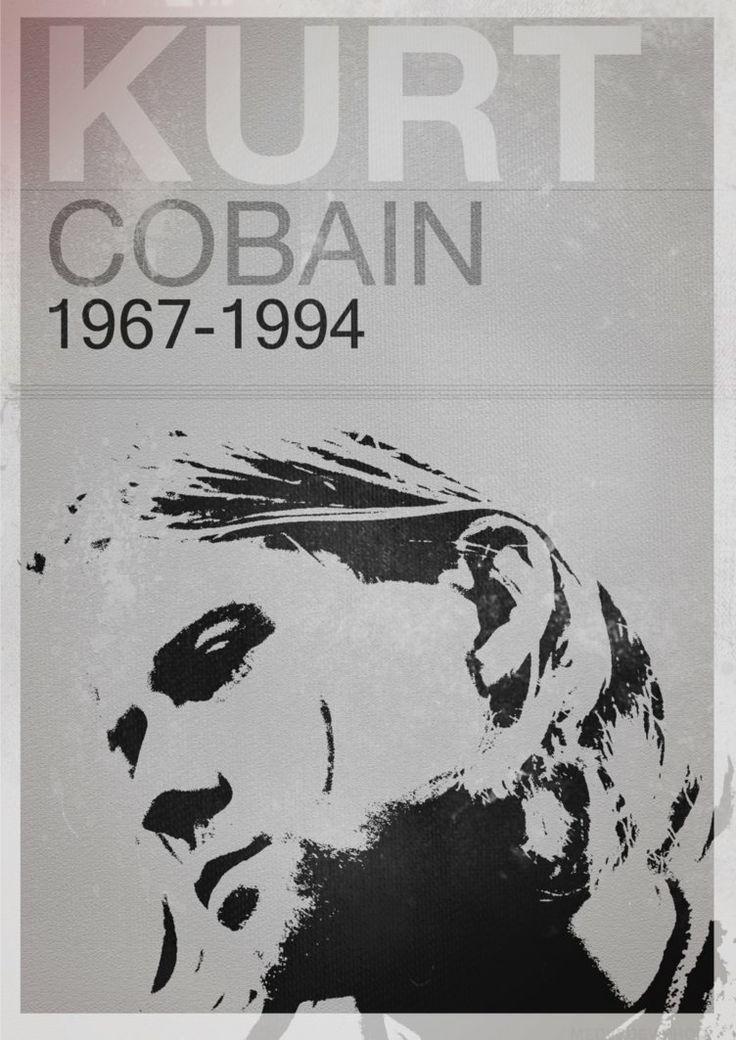 51 besten Nirvana ~ Kurt Cobain ~ Poster Art Bilder auf Pinterest ...