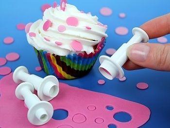 Coupeurs de gâteau rond de Les bouchées Rak sur DaWanda.com