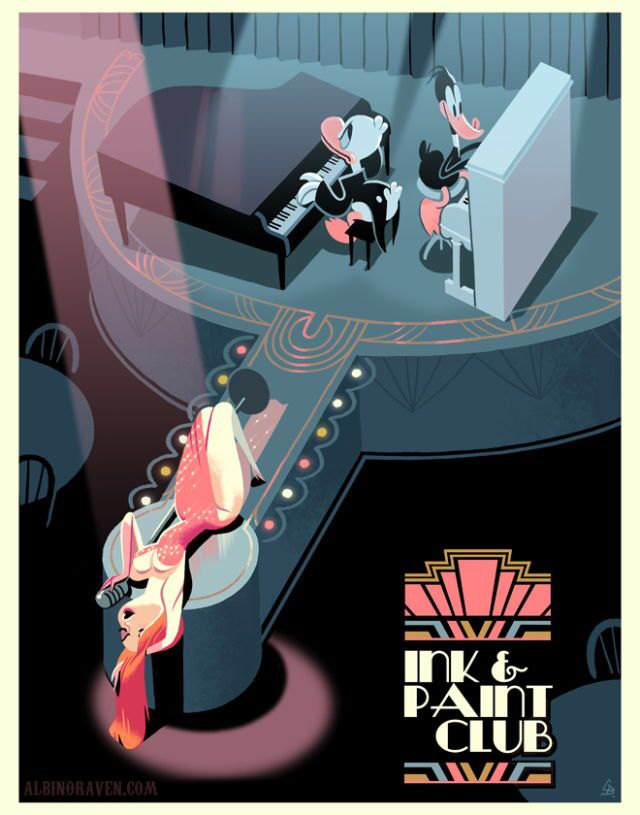 Who Framed Roger Rabbit print.