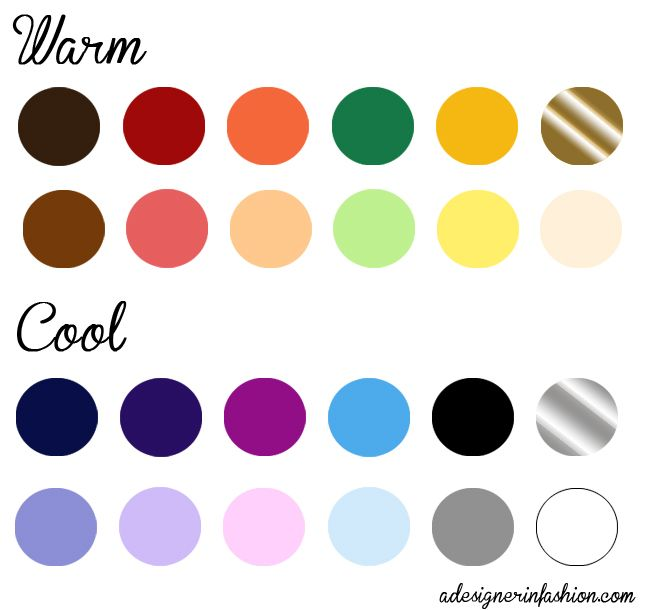 best colors for warm complexion