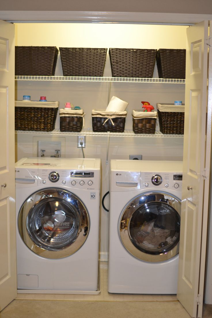 17 Best Ideas About Laundry Closet Makeover On Pinterest