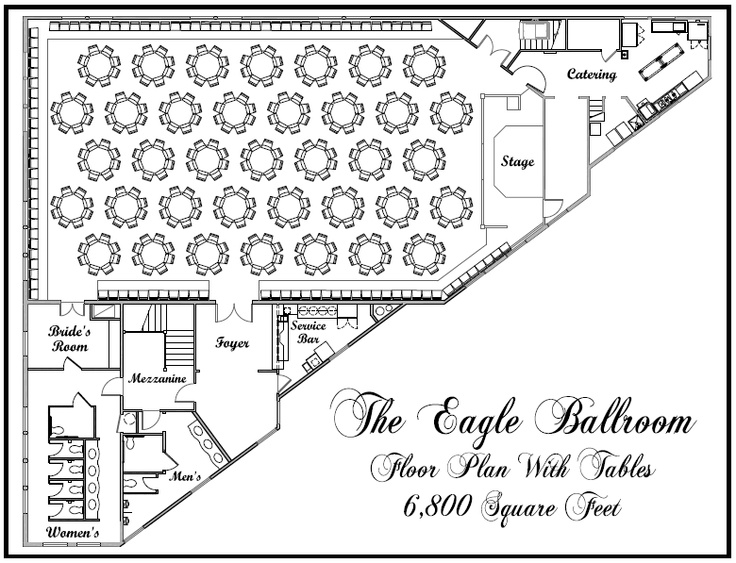 Event floor plans free gurus floor for Wedding floor plan
