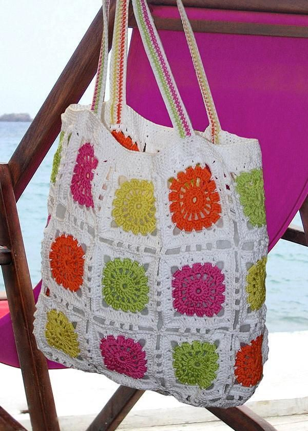 Stylish Easy Crochet: Crochet Bag Pattern - Beautiful Crochet Tote Bag For Women