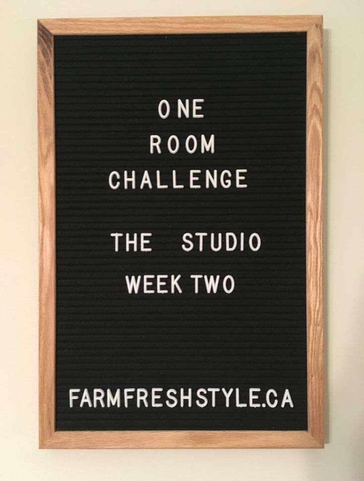 One Room Challenge – The Studio – Week 2 » Farm Fresh Style