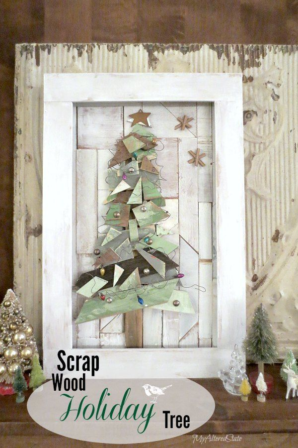 Scrap Wood Christmas Tree - Junkers United
