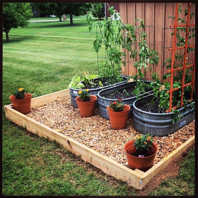 20 Brilliant Raised Garden Bed Ideas You Can Make In A: 17 Best Ideas About Plastic Water Trough On Pinterest