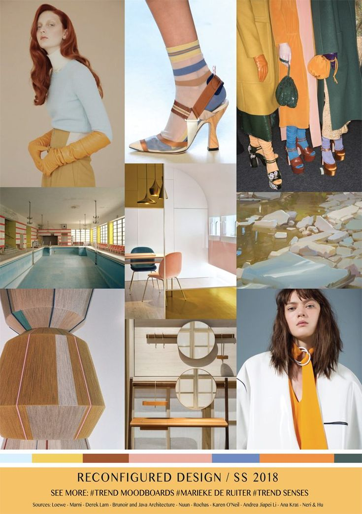 Here is the latest mood board by FV contributor Marieke De Ruiter of Trendsenses.  Trend Forecaster and Fashion Designer based in the Utrecht area of the Netherlands.  Her mood boards are directional