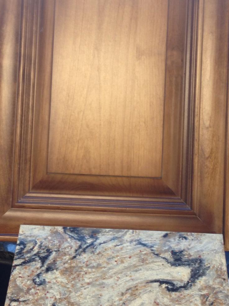 Alder Delaware Door With Our Custom Finish Cambria