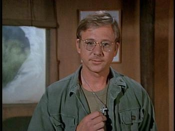 Father Mulcahy from M*A*S*H* being his adorable self.