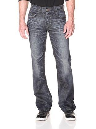 MEK Denim Men's Fairfax Boot Cut Jean