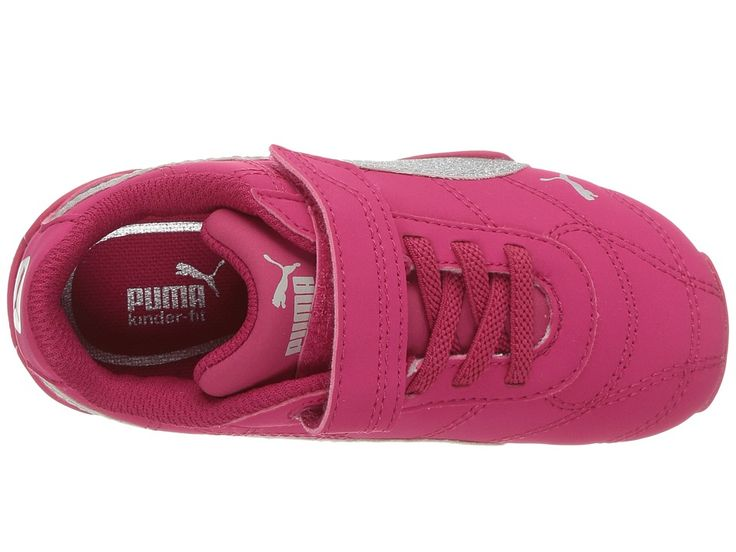 puma girl shoes. puma kids tune cat 3 glam v (toddler) girls shoes love potion/puma girl