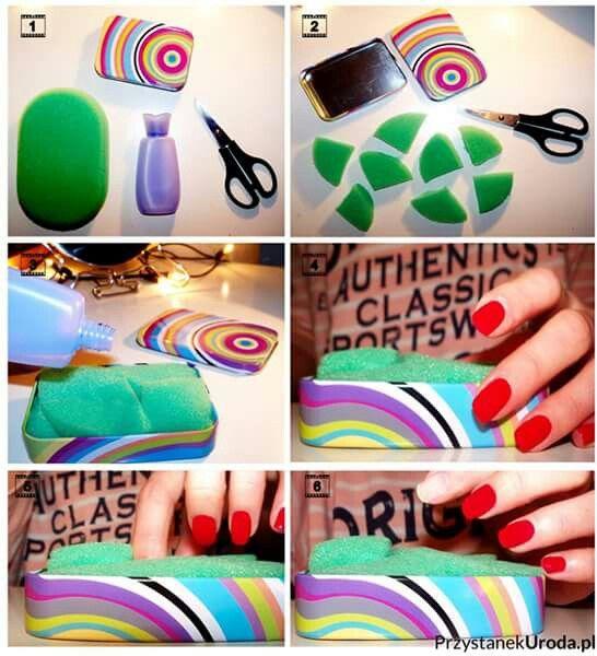 Szybkie zmywanie paznokci