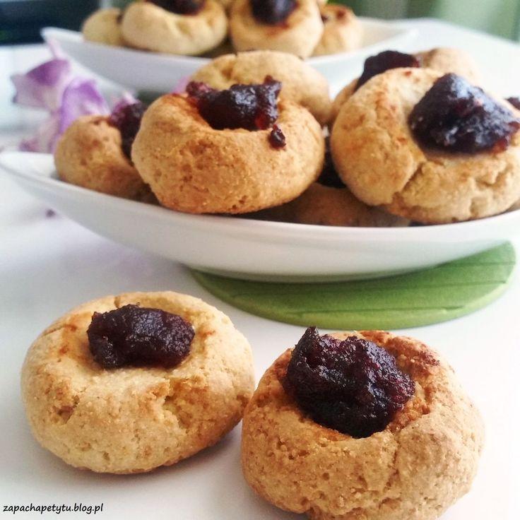 Thumbprint cookies  #zapachapetytu #thumbprint #cookies