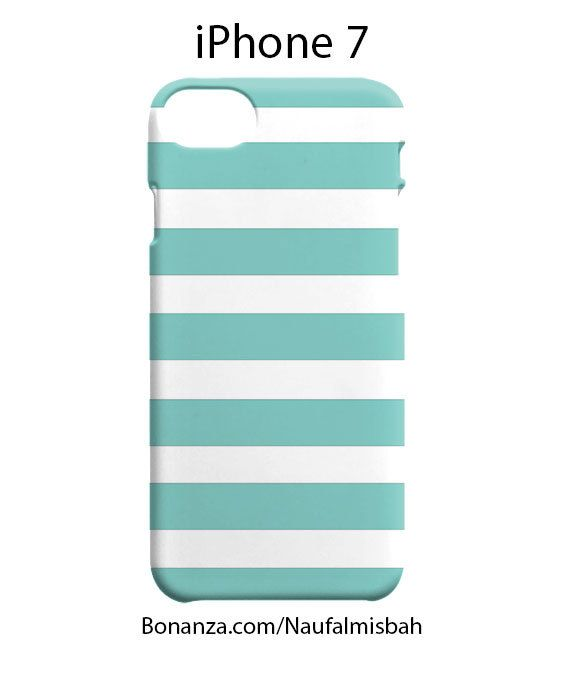 Tiffany Striped iPhone 7 Case Cover Wrap Around