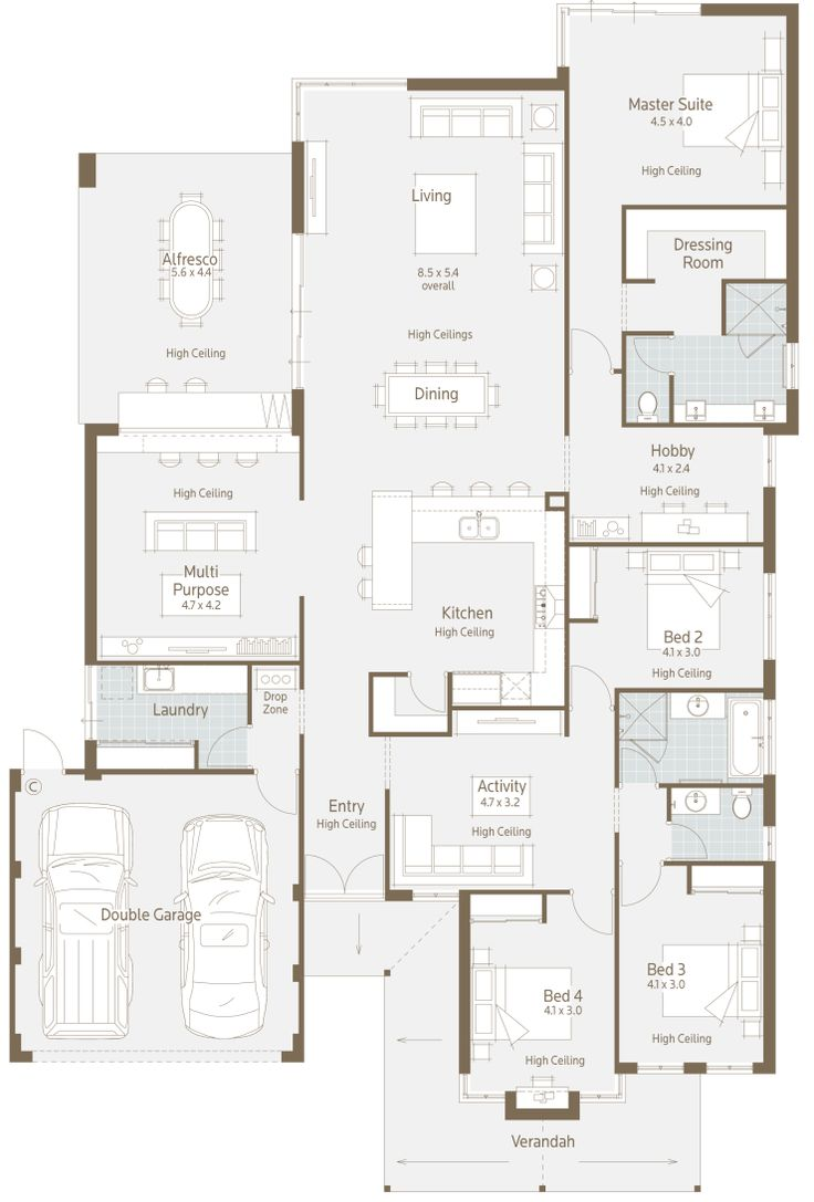 236 best farm house images on pinterest farm house house floor floor plan friday modern twist on a family home