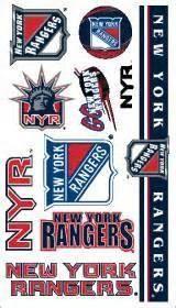 New York Rangers temporary tattoos